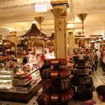 Inside Chelsea Market in New York City.