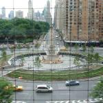 Columbus Circle in New York City.