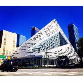 "Our Hyperbolic Paraboloid (AKA ""Triangle Building ..."